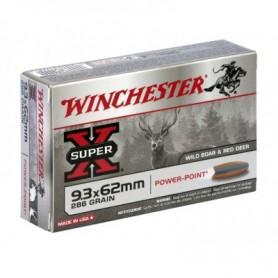 Munición Metálica Winchester Cal. 9,3x62 Power Point - Armeria