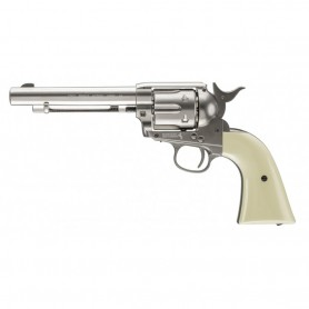 Revólver Colt Peacemaker Nickel Co2 4,5 mm BBs - Armeria EGARA