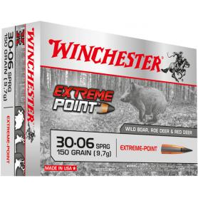 Munición Metálica Winchester Cal. 30-06 - 150 Gr Extreme Point