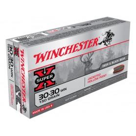 Munición Metálica Winchester Cal. 30-30 Hollow Point 150 Gr -