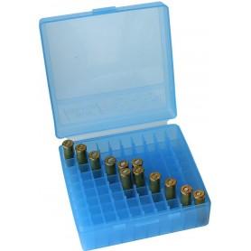 Caja munición MTM Azul - Armeria EGARA
