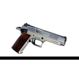 """Pistola PARDINI GT9 Cal. 9mm 5"""" CROMADA - Armeria EGARA"""