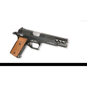 """Pistola PARDINI GT9-1 9mm 6"""" NEGRA - Armeria EGARA"""