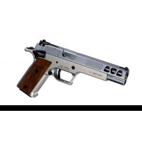 """Pistola PARDINI GT9-1 Cal. 9mm 6"""" CROMADA - Armeria EGARA"""