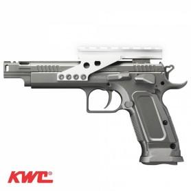 Pistola Tanfoglio 4,5 mm Co2 Bbs Acero Blow-Back + Red Dot ARIA