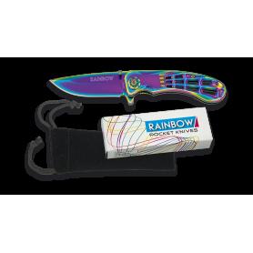 Navaja Rainbow Telaraña FOS Hoja 7 cm - Armeria EGARA