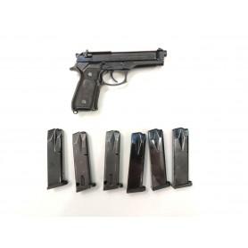 Pistola BERETTA 92 + 6 cargadores - Armeria EGARA