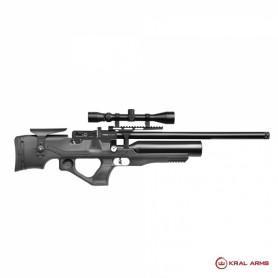 Carabina PCP KRAL Puncher Ekinoks Sintética S/A- 5,5 mm - 24
