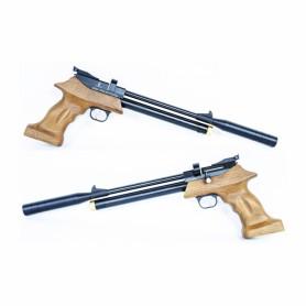 Pistola PCP Artemis/Zasdar PP800 multi-tiro con supresor de