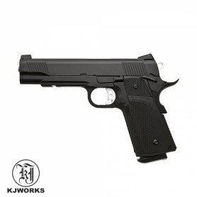 Pistola KJWorks KP-05 1911 Full Metal - 6 mm Gas - Armeria EGARA