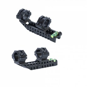 Monturas Zasdar MonoBlock Ø25 - Ø30 mm Rail Weaver/Picatinny -