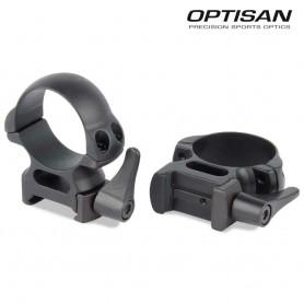 Anillas OPTISAN QRA II - Extra altas - Tubo 30 - Carril 21 -