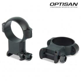 Anillas OPTISAN SSD - Extra altas - Tubo 30 - Carril 21 - OP713