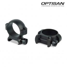 Anillas OPTISAN SSD - Medias - Tubo 25,4 - Carril 21 - OP714 -