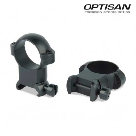 Anillas OPTISAN SSD - Extra altas - Tubo 25,4 - Carril 21 -