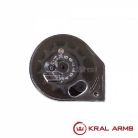 Cargador KRAL para Carabinas PCP cal. 5,5 mm - Armeria EGARA