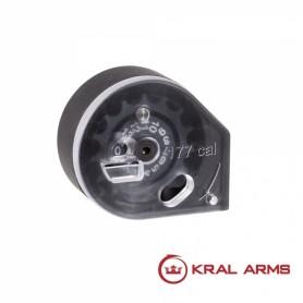 Cargador KRAL para Carabinas PCP cal. 4,5 mm - Armeria EGARA