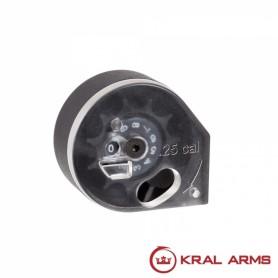 Cargador KRAL para Carabinas PCP cal. 6,35 mm - Armeria EGARA