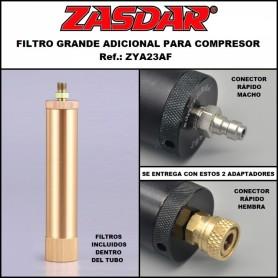 Filtro de aire con filtros y conectores - Armeria EGARA