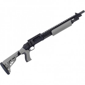 Escopeta de corredera MOSSBERG 500 ATI Tactical gris - 12/76 -