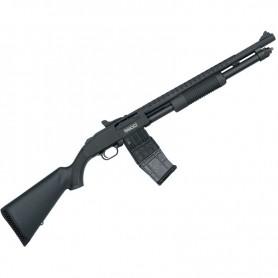 Escopeta de corredera MOSSBERG 590M MAG-FED Tactical - 12/76 -