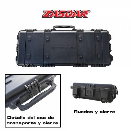 Maleta Gran Capacidad ZASDAR Modelo 3096 - Negro - Armeria EGARA