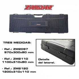 Maletin arma larga ZASDAR Modelo 2110 - Negro - Armeria EGARA