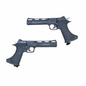 Pistola Zasdar CP400 Co2 multi-tiro cal. 4,5 mm Balines -