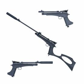 Kit Pistola y Carabina Artemis/Zasdar CP2 Co2 multi-tiro cal.