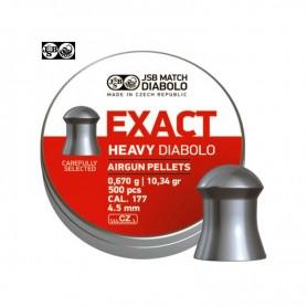 Balines EXACT HEAVY DIABOLO 4,5 mm - Armeria EGARA