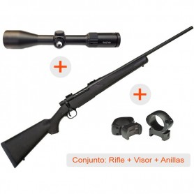 Rifle de cerrojo MOSSBERG Patriot Synthetic + Visor AVISTAR