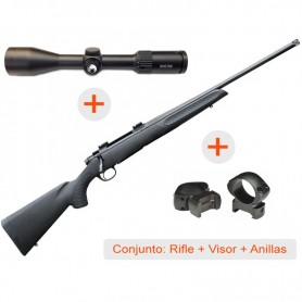 Rifle de cerrojo THOMPSON Compass + Visor AVISTAR 2,5-10x50