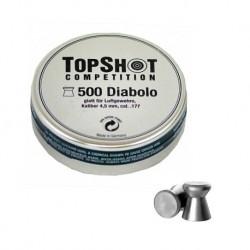 Balines MATCH TOP SHOT Diabolo 4,5 - Armeria EGARA