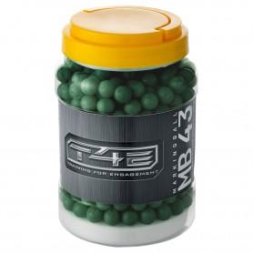 Bolas T4E Home Defense MARCADORAS cal.43 - 500 uds. verde -