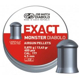 Balines JSB DIABOLO EXACT MONSTER 4,5 mm (400) - Armeria EGARA