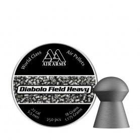 Balines AIR ARMS Diabolo Field Heavy - 5,5mm (250 pcs) -