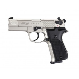 "Pistola Walther CP88 4"" Nickel Co2 Full Metal - Armeria EGARA"