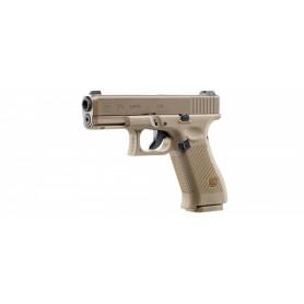 Pistola Glock G19X Coyote Blowback Co2 - Armeria EGARA