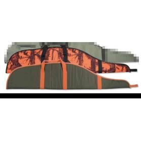 Funda STINGER acolchada (verde con naranja) 115 cm - Armeria