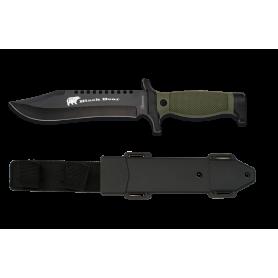 Cuchillo TACTICO BLACK BEAR 18 cm - Armeria EGARA
