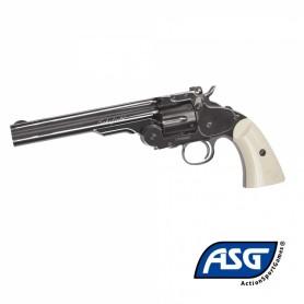 Revolver Schofield 6 pulgadas - Plated Steel Full metal - 4,5