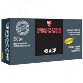 Munición Cartucho 45 ACP 230gr RNCP Top Target Fiocchi -