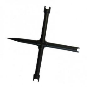 Llave chimeneas cruz 3 boquillas 1 atornillador PEDERSOLI -