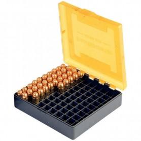 Caja de munición para arma corta Cal. 38, 357, 9X23, 7,63 -
