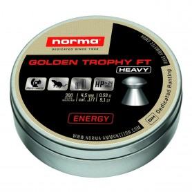 Balines Norma Golden Trophy FT Heavy 4.5 mm 0.59g - Armeria
