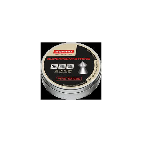 Balines Norma Superpoint Strike 5,5mm 0,94g - Armeria EGARA