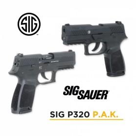 Detonadora Sig Sauer P320 Negra - 9 mm P.A.K. - Armeria EGARA