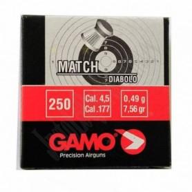 Balines GAMO Cal. 4.5MM MATCH - 250 ud. - Armeria EGARA