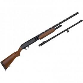 Escopeta de corredera MOSSBERG 500 Hunting Combo - 20/76 -