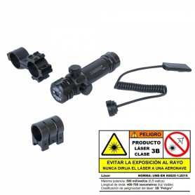 Kit Laser+ Pulsador Zasdar - Clase 3B - Armeria EGARA
